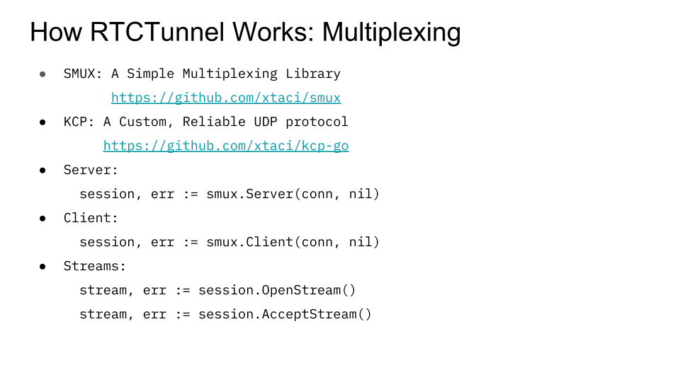 RTCTunnel: Building a WebRTC Proxy with Go   doxsey net